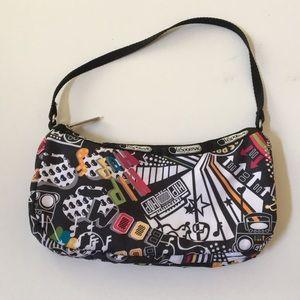 LeSportsac mini hip hop design purse